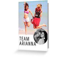Team Arianna PLL Greeting Card