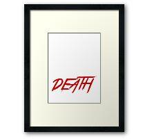 brock leasnar suplex death Framed Print