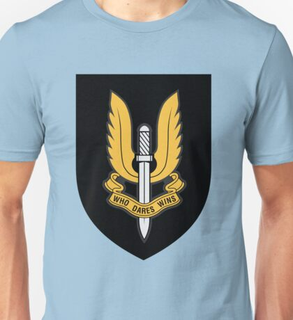 Special Air Service (Gold - Black Shield) Unisex T-Shirt