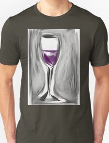 Grab A Glass, I Just Opened A New Box Unisex T-Shirt