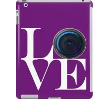 Love Photography iPad Case/Skin