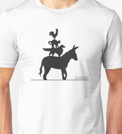 Town Musicians of Bremen Unisex T-Shirt