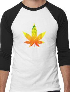 Legalize weed marijuana ganja Bob Marley shirt rastafari Men's Baseball ¾ T-Shirt