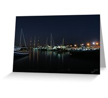.. a summer dream .. the beautiful harbour of Mergellina / Naples / Italy  ~ 04 Greeting Card