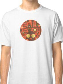 Robots red Classic T-Shirt