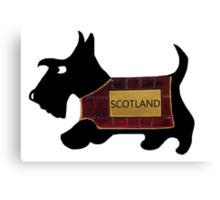 Commonwealth Games Opening Ceremony Scottie Dog 'Scotland' Canvas Print