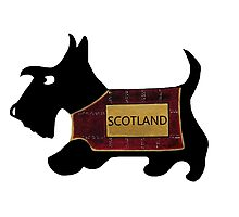 Commonwealth Games Opening Ceremony Scottie Dog 'Scotland' Photographic Print