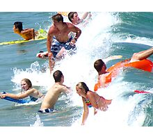 Summer fun!  Photographic Print