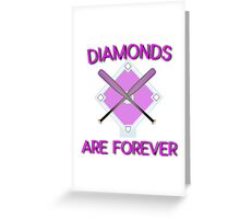 diamonds Greeting Card