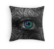 Visions In The Dark Throw Pillow