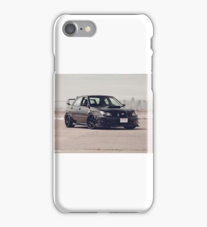 wrx sti iPhone Case/Skin