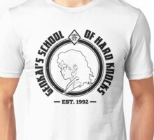 Genkai's School of Hard Knocks | Black and White Unisex T-Shirt