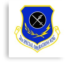 24th Special Operations Wing (USAF) Canvas Print