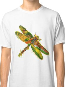 Beautifull hand drawn dragonfly Classic T-Shirt