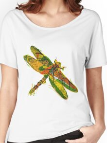 Beautifull hand drawn dragonfly Women's Relaxed Fit T-Shirt