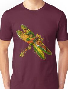 Beautifull hand drawn dragonfly Unisex T-Shirt