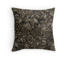 Fit In (autumn night) Throw Pillow