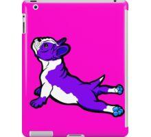 Boston Bull Terrier Puppy Purple iPad Case/Skin