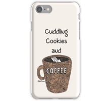 cuddling, cookies and coffee iPhone Case/Skin