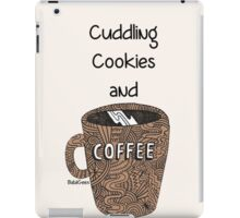 cuddling, cookies and coffee iPad Case/Skin