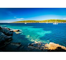 summer day in Croatia Photographic Print