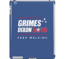 Vote Grimes Dixon iPad Case/Skin