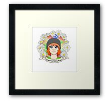 "REESE ALBRECHT: ""I'd cook and clean for you"" Framed Print"
