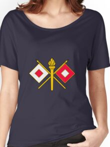 Signal Corps - Branch Insignia (United States Army) Women's Relaxed Fit T-Shirt