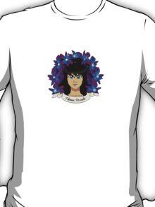 "TWEETY JARAMILLO: ""I know, I'm cute"" T-Shirt"