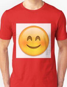 Blushing Emoji T-Shirt