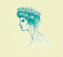 Henrietta with Barrel Cactus Crown by BorisLarimer