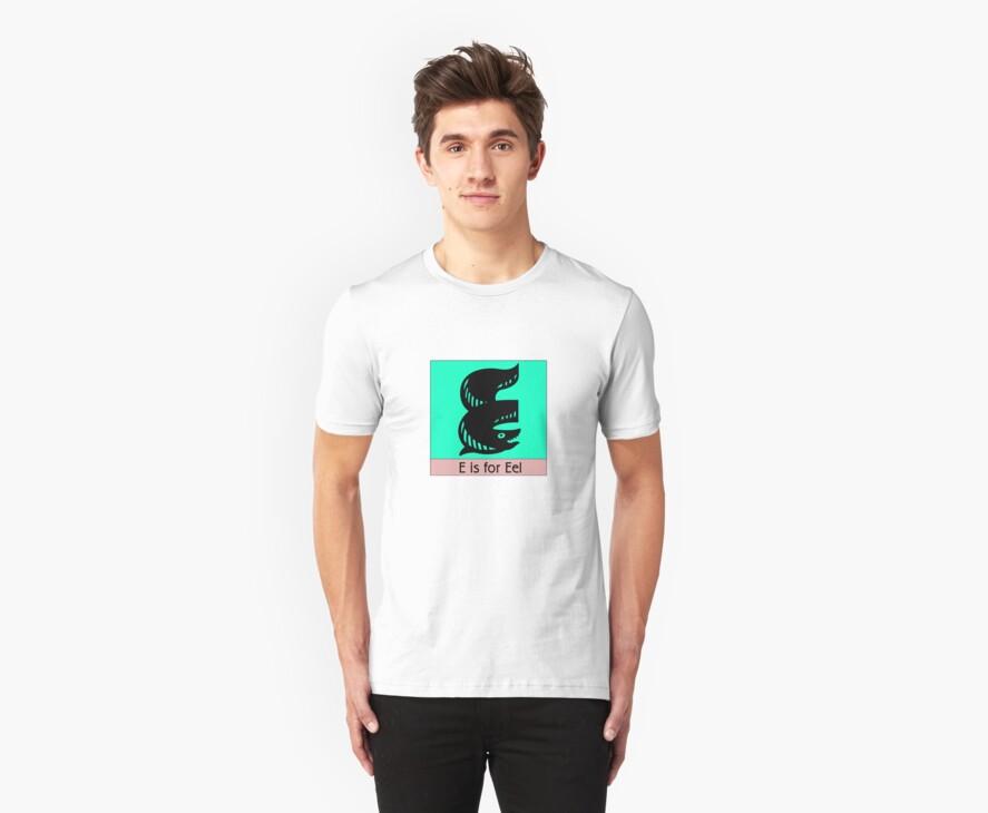 Eel Animal Alphabet by Zehda