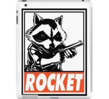 Rocket Raccoon Rocket Obey Design iPad Case/Skin