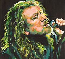 Robert Plant 40 Years Later Like Never Been Gone by ArtspaceTF