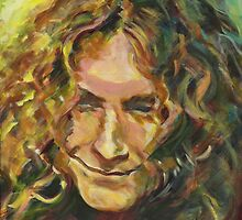 Robert Plant In The Light of Golden 70s by ArtspaceTF