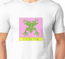 Frog Animal Alphabet Unisex T-Shirt