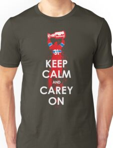 Keep Calm and Carey On Unisex T-Shirt
