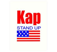 Kap Stand Up Art Print