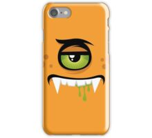 Cartoon expression monster iPhone Case/Skin