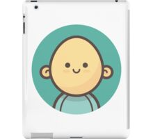 Mini Characters - Bald Man iPad Case/Skin