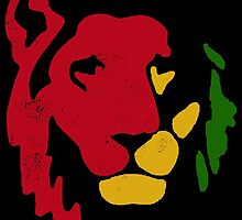 Lion Rasta Reggae by L H Kooyong