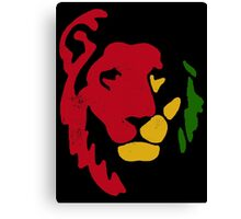 Lion Rasta Reggae Canvas Print