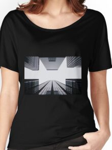 grey skyscraper  Women's Relaxed Fit T-Shirt