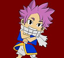 """Chibi Natsu from """"Fairy Tail"""" Anime by totalighter"""
