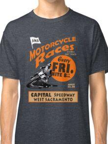 Motorcycle Speedway Races - West Sacramento Classic T-Shirt