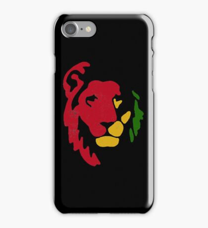 Lion Rasta Reggae iPhone Case/Skin