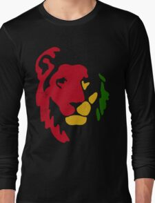 Lion Rasta Reggae Long Sleeve T-Shirt