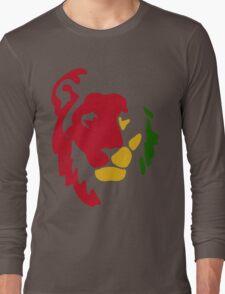 Lion Rasta Reggae Long Sleeve T-Shirt