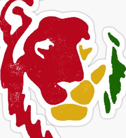 Lion Rasta Reggae Sticker