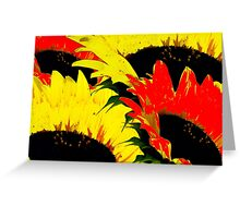 Sunny Flowers! Greeting Card